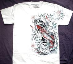 T-shirt fantasy pesce tropicale