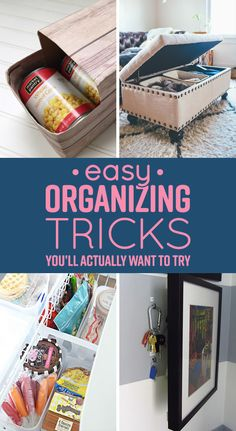 7 Easy Organizing Tricks You Ll Actually Want To Try