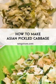 laos som pak fermented pickled cabbage | lao pickled cabbage | lao pickled cabbage food #laofood #thaifood