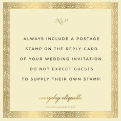 Everyday Etiquette No. 21 by Emily McCarthy Love this store! She's A Lady, Act Like A Lady, Plan My Wedding, Dream Wedding, Wedding Ideas, Wedding Quotes, Wedding Things, Perfect Wedding, Wedding Stuff