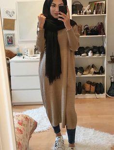 Fashion Nuriyah O Martinez Likes, 5 Comments 5 hijab styles - Hijab Modest Fashion Hijab, Modern Hijab Fashion, Street Hijab Fashion, Islamic Fashion, Hijab Chic, Muslim Fashion, Modest Outfits Muslim, Hijab Outfit, Hijab Mode Inspiration