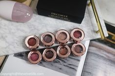 Decorte Eye Glow Gem new shades review and swatches, Decorte Comfort Day Mist Pink Bottle, Eye Primer, Colorful Eyeshadow, Luxury Beauty, Just The Way, Eyeshadow Palette, Pretty In Pink, Mists