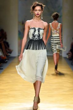 Nicole Miller, NY Fashion Week, SS 2014