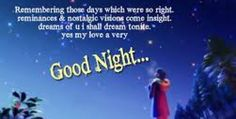 Alls Bubblews Good Night Frends.