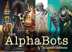 @Artstrada SATURDAY NIGHT! 2/24 Book Release Party for #TheAlphaBots by Austin-based international street artist The Impossible Winterbourne #MeettheArtist from 7-9pm and get your own #autographed copy! #bookrelease #streetart #atx #steampunk #kickstartersuccess https://t.co/PtoAlPGKV9