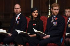 The Duke of Cambridge, Prince Harry and Ms. Meghan Markle joined today's Service of Commemoration and Thanksgiving to mark #ANZACDaypic.twitter.com/wChRqEWFrz