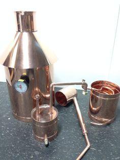 Discount 10 Gallon Stillz Traditional Copper - Moonshine Still Moonshine Still Plans, Copper Moonshine Still, How To Make Moonshine, Copper Still, Pure Copper, Homemade Still, Whiskey Still, Stills For Sale, Copper Pots