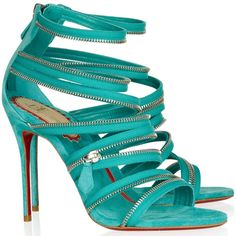 Sexy Christian Louboutin Unzip 100mm Suede Booty Turquoise Amazing | Christian Louboutin Black And White Ankle Boots