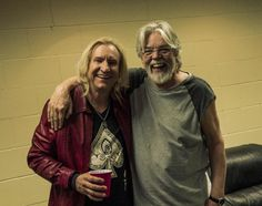 Joe Walsh with Bob Seger 2012