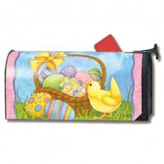 MailWraps Magnetic Mailbox Cover - Happy Easter