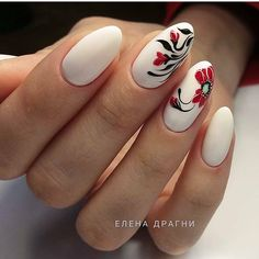 31 Best Winter and Christmas Nails Designs Ideas Gell Nails, Shellac Nails, Manicure And Pedicure, Elegant Nail Designs, Best Nail Art Designs, Nail Polish Designs, Fun Nails, Pretty Nails, Nails And Beyond
