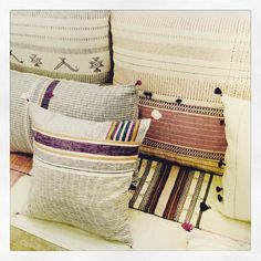 Nouvelle collection #cushion #elegant #textiles#kalacotton #decoration#home #bohème #tamanantik #sainttropez