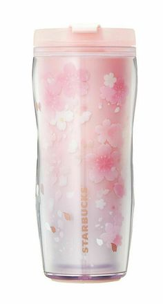 Starbucks Korea March Lenticular effect on inner side of double wall. Depending on the direction in which you move the tumbler. Visual effects, such as cherry full bloom. Pink Cups, White Cups, Best Water Bottle, Water Bottles, Case Tumbler, Happy Pig, Free Cards, Halloween News, Coffee Milk