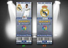 8 Mejores Imagenes De Tarjetas Futbol Cards Ticket Invitation Y