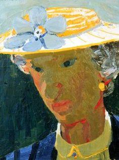 'Mother-in-Law', 1954-1955; painting oil on canvas,  David Park, American (Boston, Massachusetts, 1911 - 1960, Berkeley, California)