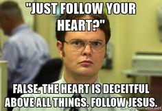 You go Dwight! Good call!