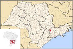 Localização de Jundiaí