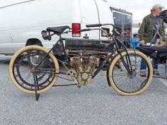 The AACA Hershey Meet Swap Meet Curtis Motorcycle