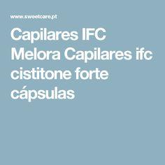 Capilares IFC Melora Capilares ifc cistitone forte cápsulas