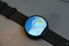 The Moto 360 - another entry to wearable tech...