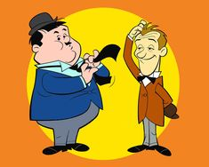 Laurel and Hardy cartoons / Hanna-Barbera Cartoon Cartoon, School Cartoon, Vintage Cartoon, Cartoon Shows, Laurel And Hardy, Stan Laurel Oliver Hardy, Hanna Barbera, Classic Cartoon Characters, Classic Cartoons
