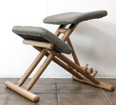 Ergonomic Posture Kneeling Chair/Knee Balans Support Back Disc Pain