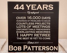Personalized Retirement Gift - Retirement Gifts - Retirement Gifts for Men - Retirement Gifts for Women - Retirement Sign - Wood Engraved Personalized Retirement Gifts, Retirement Gifts For Men, Teacher Retirement, Retirement Parties, Retirement Ideas, Retirement Celebration, Retirement Quotes, Retirement Cards, Early Retirement