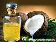 Trong y học dầu dừa có công dụng chữa bệnh hôi miệng hiệu quả.