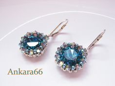 Ankara earring pattern. easy to follow with some translation.  Many thanks