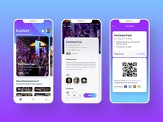 Event Booking designed by Abhinav Agrawal. Connect with them on Dribbble; the global community for designers and creative professionals. Android Design, Web Ui Design, Flat Design, Design Design, Mobile App Ui, Mobile App Design, Design Thinking, Motion Design, Interface Web