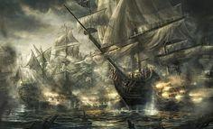 Trafalgar Battle