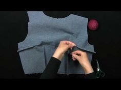 "First of 5 videos - very detailed step-by-step ""how to make a dress""."