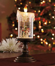 Lighted Snowman Candle Globe, Flameless LED: No matter where you reside this holiday season, the forecast is calling for snow with these delightful Lighted Holiday Candle Globes Christmas Snow Globes, Christmas Snowman, Christmas Home, Christmas Holidays, Christmas Crafts, Christmas Decorations, Merry Christmas, White Christmas, Holiday Fun