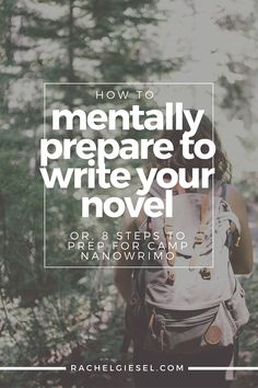 Let's assume for now that you've already got that hard stuff figured out. This isn't about planning the intricacies of your novel. This isn't a craft lecture. Rather, this is figuring out how to get your mind in the right place so that when it comes down to doing it, YOU ACTUALLY DO IT. This is about mental preparation to set your goals and achieve them in the time period you allowed. Learn how to get your mind ready so that when you're ready to write, you write.