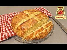Kenyér élesztő és kovász nélkül / Anzsy konyhája - YouTube Share Pictures, Animated Gifs, Pasta, Drink Recipes, Sweet, Breads, Youtube, Awesome, Food