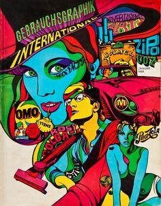 graphics, illustration, psychedelic, pop, cleveland, wes, wilson, david pelham, griffin, mad, Lichtenstein, mac lean, lee conklin, glaser, k ...