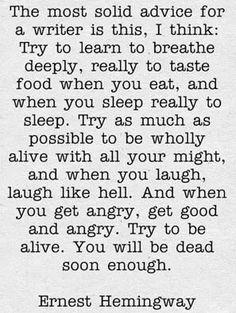 Read more about Ernest Hemingway here ~~~~~ Writers Write offers the best writing courses in South Africa. Writers Write - Write to communicate Writing Quotes, Writing Advice, Writing A Book, Writing Prompts, The Words, Cool Words, Hemingway Quotes, Ernest Hemingway, Quotable Quotes