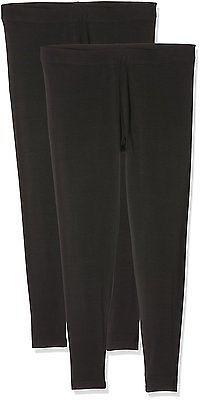 W36/L26 (Manufacturer Size:UK 18), Black, Evans Women's 2 Pack Ankle Leggings