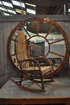 1900-rocking-chair Nord Ouest Antiquités