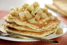Excellent Pancakes With Apples