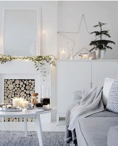 8 Splendid white rooms just in time for a White Christmas - Daily Dream Decor