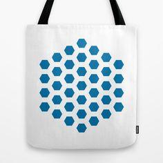 hexagonal Tote Bag