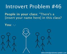 There is a difference between introvert, shy, and social anxiety. You can be an introvert and still be socially confident. Introvert does not = social anxiety. Intj, Extroverted Introvert, Story Of My Life, The Life, Real Life, Introvert Problems, Def Not, Highly Sensitive, Feelings