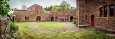 Mamhead Castle Courtyard... Wedding Inspiration for 2015