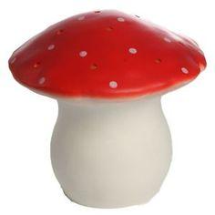 Heico - Stor Paddehatte Lampe Rød