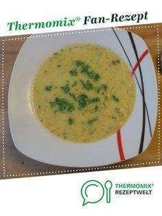 Gemüsecremesuppe von Thermomix Rezeptentwicklung. Ein Thermomix ® Rezept aus der Kategorie Suppen auf www.rezeptwelt.de, der Thermomix ® Community.