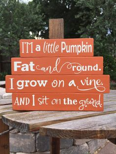 SMALL - Wood Pumpkin - Fall Decor - Wood Pumpkin Stack - Thanksgiving Decor - Halloween Decor - Pumpkin Decor - Rustic Fall Sign - Wood Sign by CottonseedMktplace on Etsy Rustic Halloween, Fall Halloween, Halloween Ideas, Halloween Crafts, Halloween Stuff, Halloween Wood Signs, Halloween Flowers, Happy Halloween, Halloween Costumes