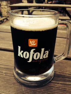 Kofola = A Czechoslovakian soda founded in the 1960's as an alternative to Western sodas. Still popular today and can be found on tap at many local bars. #CzechDrink