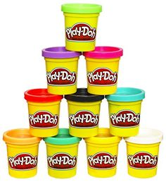Advertisement - Modeling Compound Kids Fun Play Doh 10 Pack Case Assorted Colors 2 Ounce Cans