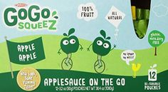 GoGo squeeZ Applesauce On The Go Apple Apple 32 Ounce Pouches 12 Count Case of 6 >>> Want to know more, click on the image.Note:It is affiliate link to Amazon.